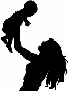 mother-and-children-silhouette-i4.gif (474×624)                                                                               More