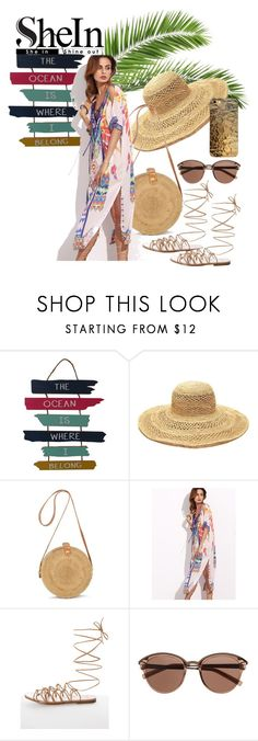 """""""the ocean"""" by britishcandies ❤ liked on Polyvore featuring WALL, Mar y Sol, Glamorous and Witchery"""