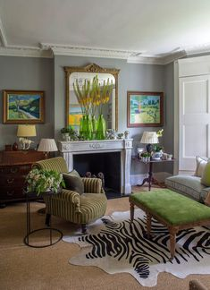 Gorgeous #English home in #london designed by #garden designer Butter Wakefield