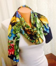 Shawlscarfcolorful scarfdecorated scarf beach by feltyhome on Etsy