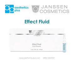 Amp up your treatment with Janssen Cosmetics Ampules!.   Hyaluron Fluid Ampule Benefits: - Rapid help for extremely moisture-deficient and dehydrated skin - Improves the skin's resilience - Smooths creases caused by dryness minimizing the appearance of fine lines and wrinkles.  #janssen #janssencosmetics #janssenskincare #betterskin #hydration #wrinklereducer #ampules #aestheticsplus #spa #skincare