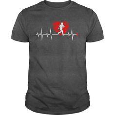 Running Heartbeat Triathlon Sport Shirt