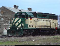RailPictures.Net Photo: INPR 4502 Idaho Northern & Pacific EMD GP40 at Wilder, Idaho by westbnsf