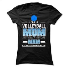VolleyBall Mom - #it tee shirts. VolleyBall Mom, t shirt quotes,print your own design on t shirt. CHECK PRICE => https://www.sunfrog.com/LifeStyle/VolleyBall-Mom-64693882-Ladies.html?id=67911