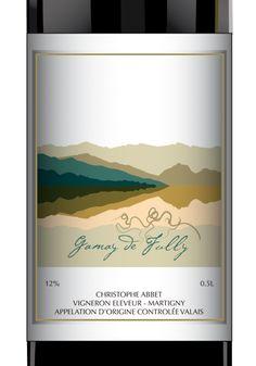 Wine labels by Nathalie Knovl, via Behance