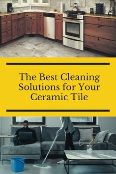 Check out the best cleaning solutions for your ceramic tile here. Flooring 101, Cleaning Solutions, Good Things, Ceramics, Tile, Check, Ceramica, Pottery, Mosaics
