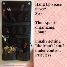 Now this was an ice day well spent! I love my Thirty One Hang up space saver!!