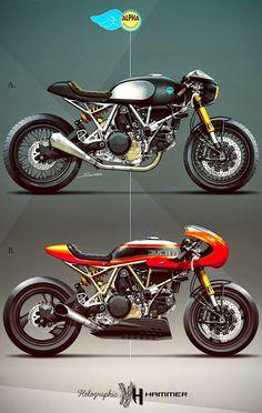 - Ducati 800ss 2004 holographic hammer per Alpha Motocicletas