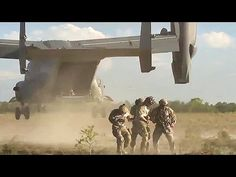 US and Chilean Military In CV22 Infiltration Exfiltration. 21st Special Tactics Squadron and Chilean military forces trained at rappelling from a CV22 Osprey on Sontay Drop Zone near Hurlburt Field Florida to improve their proficiency at infiltration and exfiltration from a CV22. Video by Airman 1st Class James Cason | 3rd Combat Camera Squadron. Military Videos, Military News, Drop Zone, Rappelling, Marine Corps, Armed Forces, Science And Technology, Troops, Documentaries