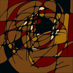 """Abs Geo"" - 2, by Sylok.  http://www.pinterest.com/ssylok/sylok-art/"