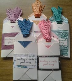 Fancy Tags using Stampin' Up! In Colors