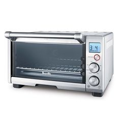 Shop Breville Smart Oven Convection Toaster/Pizza Oven Silver at Best Buy. Find low everyday prices and buy online for delivery or in-store pick-up. Specialty Appliances, Small Appliances, Kitchen Appliances, Electric Toaster, Electric Oven, Restaurants, Countertop Oven, Tempered Glass Door, Stainless Steel Oven