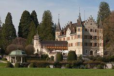 Kreuzlingen (Kanton Thurgau) - Seeburg Castle / Schloss Seeburg / Château de Seeburg
