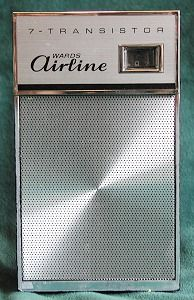 Airline transistor radio.....quietly listened to mine under the covers after all of the family was in bed