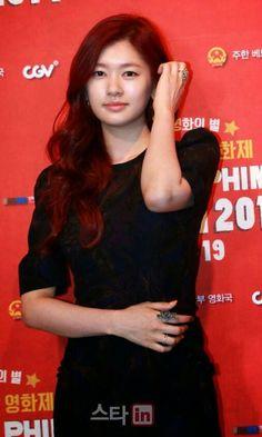 Jung So Min Young Actresses, Korean Actresses, Asian Actors, Korean Actors, Actors & Actresses, Jung So Min, 2015 Hairstyles, Cool Hairstyles, Baek Seung Jo