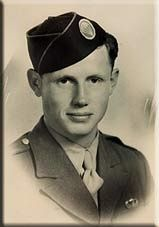 Gordon E. Mather was Sergeant within F Company of the 506th PIR. On D-Day, Gordon E. Mather was the 1st Squad Sergeant and forlast jumper (nr. 16) in stick 74. During the Market Garden jump Mather was jumper nr. 13. Gordon was KIA during a patrol near the Foy railroad, when the patrol was gunned down by a German MG. One of his buddies remembers that Gordon used to quote: 'It is far better to reel across the Sun in one Blaze of Glory…, than to sip pale years and cower before Oblivion'