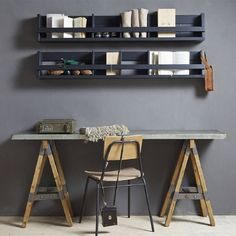 Inspiring Industrial Home Office Ideas
