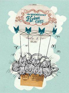 The Magnificent Flying Cats- Dan Bob Thompson