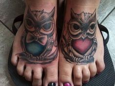 Owl Couple cute