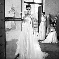 Colección Costuras de la firma de moda nupcial @J_Peiro