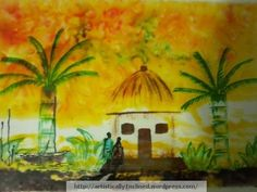 ACRYLIC+GLASS PAINTING - Painting by Sushmitha TD in My Projects at touchtalent