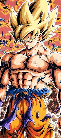 Goku ssj By: Youngjijii Goku Drawing, Ball Drawing, Wallpapers Games, Animes Wallpapers, Dragon Ball Z, Foto Do Goku, Spiderman Drawing, Dragon Images, Wallpaper Naruto Shippuden