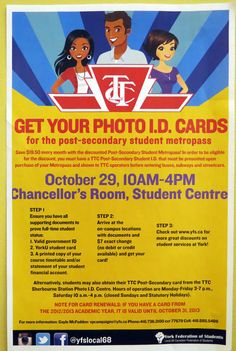 Time for your TTC Metropass photo!