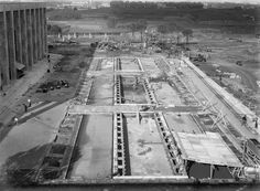 L' EUR in costruzione 1940