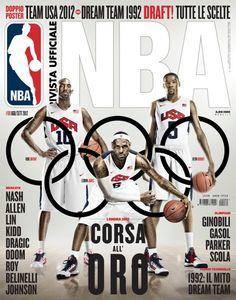 NBA Italia - August/September 2012