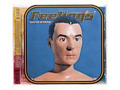 david byrne feeling's album cover designed by stefan sagmeister, 1997