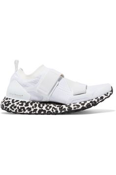 adidas by Stella McCartney - Ultraboost X Primeknit Sneakers - White Stella Mccartney Adidas, Stella Mccartney Sneakers, Crossover Bags, Ultraboost, Designer Shoes, Nike Jacket, Christian Louboutin, Adidas Sneakers, Luxury Fashion