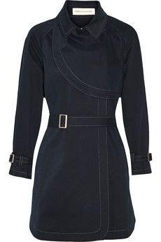 REBECCA MINKOFF Cece belted cotton-blend coat £118.12(Approx. RUB13,924) Original price £262.50 55% off
