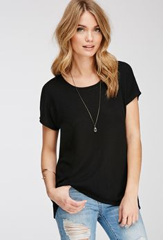 Drapey Textured Knit Blouse | FOREVER21 - 2000079174