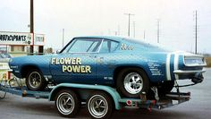 Vintage Drag Racing - Gasser - The Flower Power Cuda