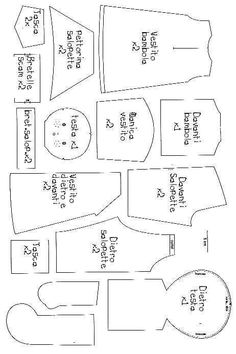 Image result for Free Printable American Girl Patterns