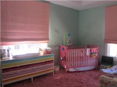 Lovely Turquoise Pink Nursery Room - Turquoise is not a common color that is often found, moreover for the new baby-born room. However it is looked so nice combined with pink in as accessories. So, if the room is turquoise you don?t need to change th