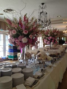 Buffet Set Party Tables Bufé Dulce Style Wedding