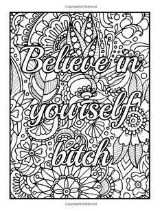 Amazon Be Fcking Awesome And Color An Adult Coloring Book