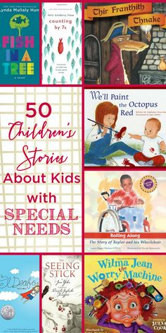 Reading children's stories about special needs with your kids is a great way to spread understanding and to help children understand that those with different abilities have much more in common than they may think! www.themidlifemamas.com