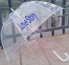 Retro Dome Umbrella is elegant, romantic, and very eye-catching. Logo is fantastic exposed showed and displayed on the transparent umbrella. It's a wonderful promotional product.