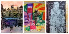 Tons of printmaking ideas