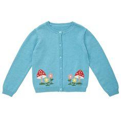 Clothing, Nightwear & Accessories   Mushroom Cardigan   CathKidston