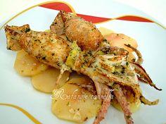 Oggi propongo un piatto di pesce, ottimo sia come secondo piatto che come piatto unico per la cena. Gustoso e nutriente, ideale per tutta la famiglia.