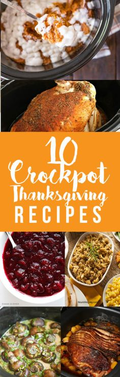 Crockpot Thanksgiving Recipes | Easy Holiday Cooking