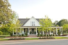 Farmhouse revival plan!! I've been looking for this one! The entry hall/staircase is gorgeous!!
