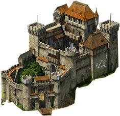 Fantasy City, Fantasy Castle, Fantasy House, Fantasy Places, Château Minecraft, Minecraft Medieval, Architecture Minecraft, Architecture Design, Medieval Houses