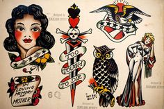 Sailor Jerry's first studio was in Honolulu's Chinatown, then the only place on the island where tattoo studios were located. Description from pinterest.com. I searched for this on bing.com/images