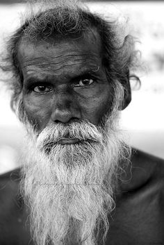 Old Man by Kausthub, via flickr