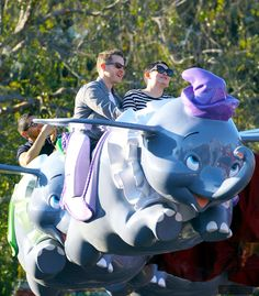 Ginnifer Goodwin & husband Josh Dallas at Disneyland on February 12th, 2017.
