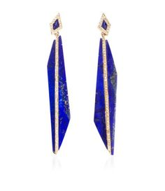 Maiyet Bisect Long Earrings BLUE